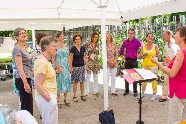 Moestuin Bartimeus 2e Pinkster Zingen op het leven _23
