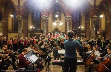 Weihnachts Oratorium Meezingconcert Amsterdam 2014