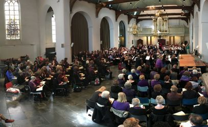 Matthäus Passion Meezingconcert Utrecht 2018