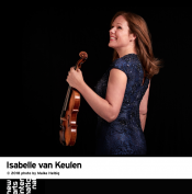 Isabelle van Keulen - two concerts in The Netherlands in January 2019