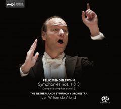 Complete Symphonies vol. 2: Symphony nos.1 & 3