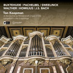 Ton Koopman at the Zacharias Hildebrandt Organ (1726) in Lengefeld in the Erzgebirge