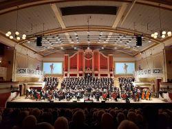Efland conducts Britten War Requiem