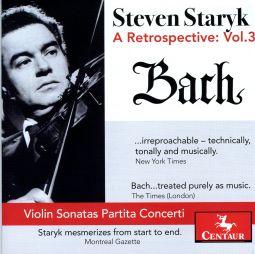 Steven Staryk: Retrospective: Vol 3 J.s. Bach