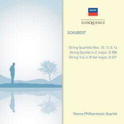 String Quartets Nos. 10, 12 & 14, Trio, Quintet