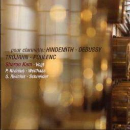 Pour Clarinette: Hindemith, Debussy, Trojahn & Poulenc