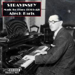 STRAVINSKY: PIANO MUSIC 1911-42