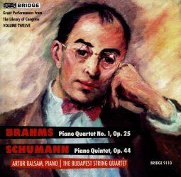BRAHMS:PIANO QUARTET NR.1 OP.25 / P