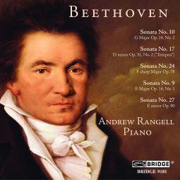 Sonatas Nos. 10, 17, 24, 9 & 27