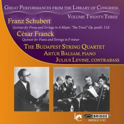 Quintets for Piano and Strings