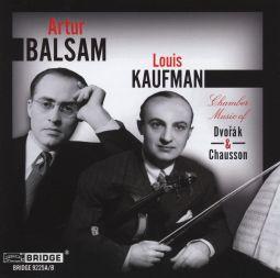 Chamber Music of Dvorak & Chausson