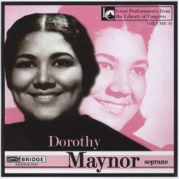 Dorothy Maynor, soprano