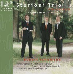 Piano Quartet op.47/Piano Trio op.80/Skizzen