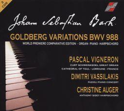 Goldberg Variations - Comparative Edition