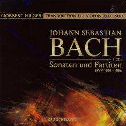 Sonaten und Partiten BWV1001-1006 (for Cello)
