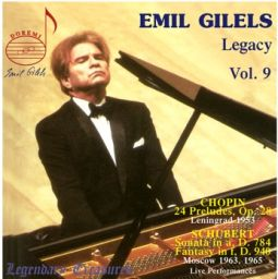 Gilels Legacy, Vol. 9