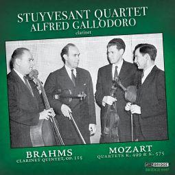 Brahms: Clarinet Quintet - Mozart: String Quartets, K. 499 & 575