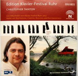 Christopher Tainton - Edition Klavier-Festival Ruhr