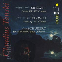 Sonata C Minor KV 457 / Sonata C Minor Op. 111 / Sonata C Major D 840