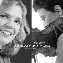 Franz Schubert, Sonatine Op 136 No 2; Fantasy D934; Sonata in a D574