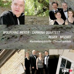 Wolfgang Amadues Mozart & Max Reger, Clarinet quintets