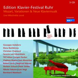 Mozart, Variations & New Piano Music (Edition Ruhr Piano Festival Vol. 14)