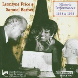 HISTORIC PERFORMANCES (1938 & 1953)