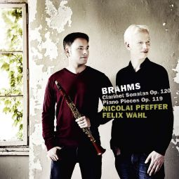 Brahms Clarinet & Piano , Op. 119 & 120