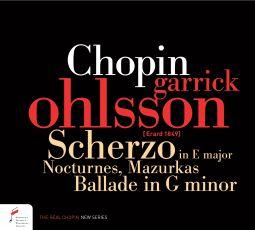 Chopin. Scherzo in E major, Nocturnes, Mazurkas, Ballade in G minor