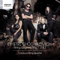 Shostakovich String Quartets 1, 2 & 7