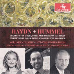 Haydn and Hummel Concertos for Violin, Piano and Orchestra