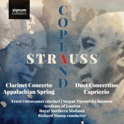Duet Concertino, Prelude to Capriccio – Clarinet Concerto, Appalachian Spring