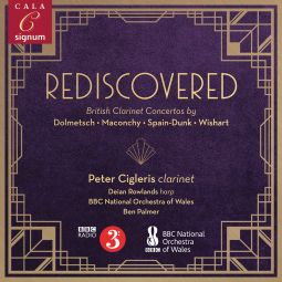 Rediscovered – British Clarinet Concertos