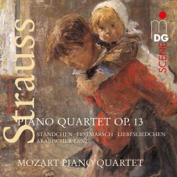 Piano Quartet Op. 13/Standchen/Festmarsch/Liebesli