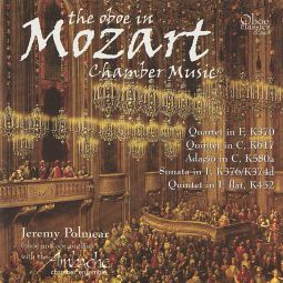 The oboe in Mozart chamber music
