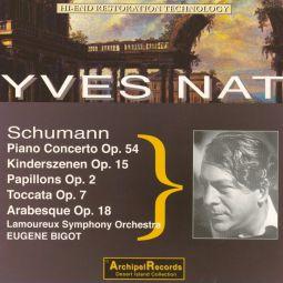 Schumann: Klavierkonzert, Kinderszenen, Papillon,