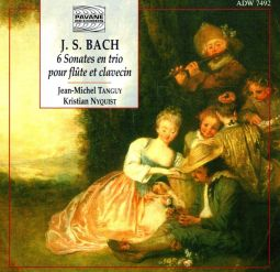 Six sonatas for flute and harpsichord