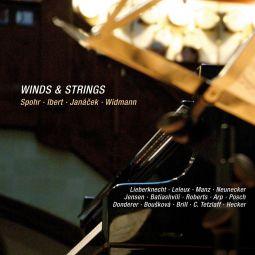 Winds & Strings, works by Louis Spohr, Jacques Ibert, Leos Janacek, Joerg Widmann