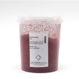 Pigment oxide rood