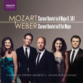 Mozart & Weber Quintets