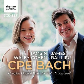 CPE Bach Complete Works for Violin and Keyboard