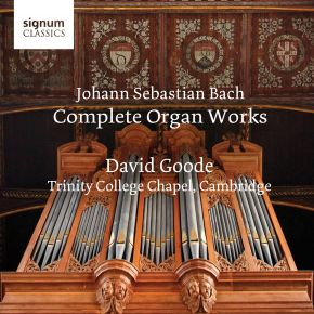 The Complete Organ Works (Box), Trinity College Cambridge