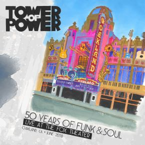 50 Years of Funk and Soul: Live at the Fox Theater - Oakland, CA - June 2018 (DVD)