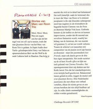 Pianowereld Magazine 6-2013