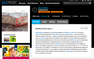 Falling Stones review in AllMusic.com