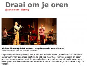 Michael Moore Quintet concert review