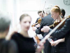 CD recording Luzerner Sinfonieorchester