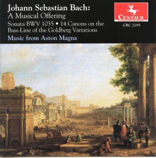 Bach, J.S.: Musical Offering / Flute Sonata, Bwv 1035 / 14 Verschiedene Canones