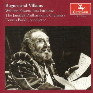 Opera Arias (Baritone): Powers, William - Puccini, G. / Verdi, G. / Gounod, C.-F. / Offenbach, J. / Wagner, R. / Rossini