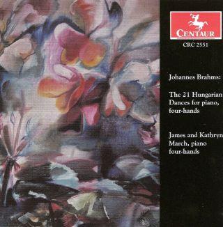 Brahms, J.: 21 Hungarian Dances (Version for Piano 4 Hands)